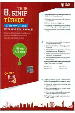 Teog 8.Sınıf Türkçe Deneme Sınavları