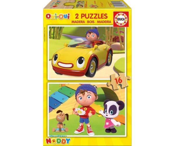 Edu Nody Ahşap Puzzle 2X16 Noddy