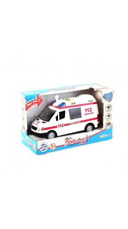 Adeland 201301 1 16 Sesli Ambulans 8681241084695 Adeland