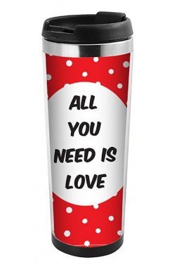 Trendix 350 Ml Love Termos Mug