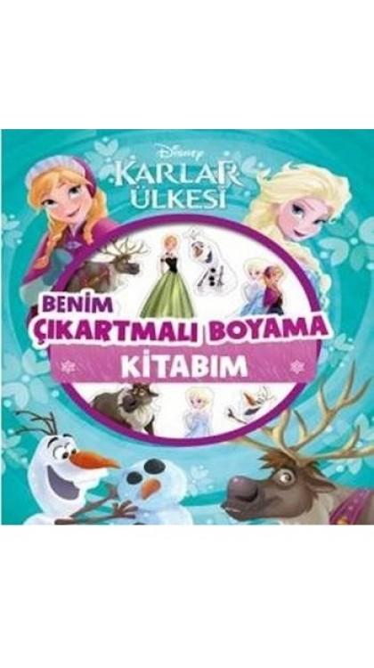 Karlar Ulkesi Boyama Kitabi 9786050955583 Dogan Egmont Yeni