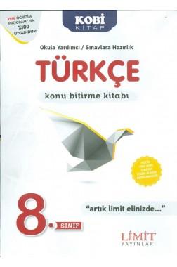 8.Sınıf Türkçe Konu Bitirme Kitabı
