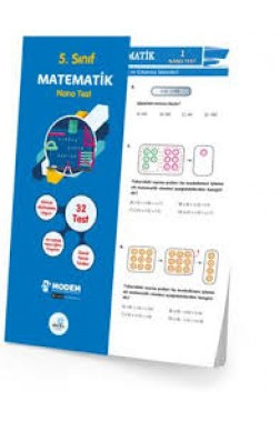 5.Sınıf Matematik Nano Poşet Test