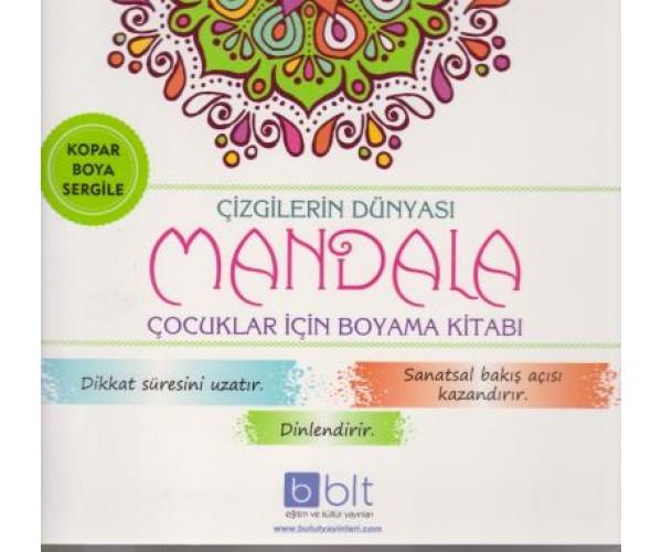 Hayvan Figurleri Mandala Cocuklar Icin Boyama Ki 9786057930224