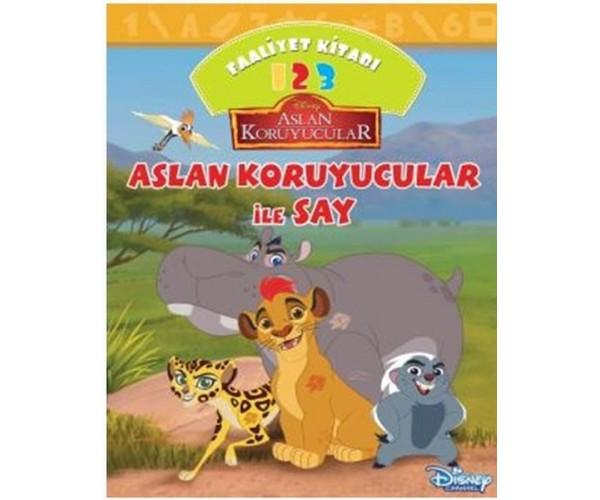 Disney Aslan Koruyucular Ile Say Faaliyet Kitabi 9786050950106