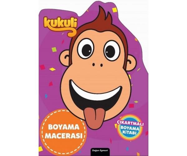 Kukuli Ozel Kesimli Boyama Macerasi 9786050960242 Dogan Egmont