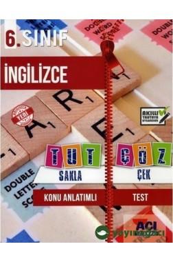 6.Sınıf İngilizce Konu Anlatımlı Test
