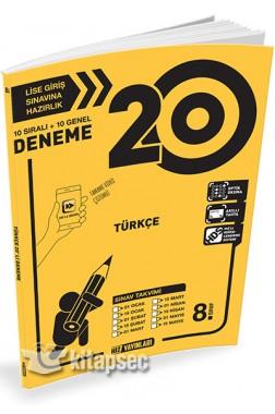 8. Sınıf LGS 20 li Türkçe Deneme
