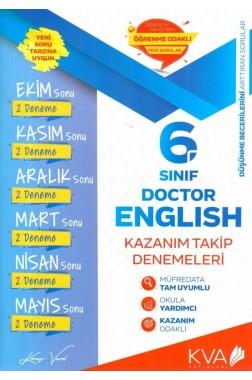 6.Sınıf İngilizce Kazanım Takip Denemeleri