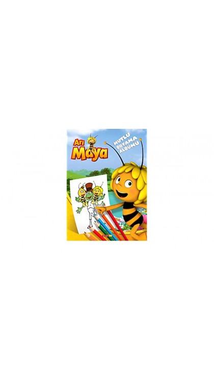 Ari Maya Mutlu Boyama Albumu 9786050916867 Dogan Egmont Yeni