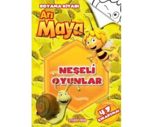 Ari Maya Neseli Oyunlar Boyama Kitabi 9786050934373 Dogan