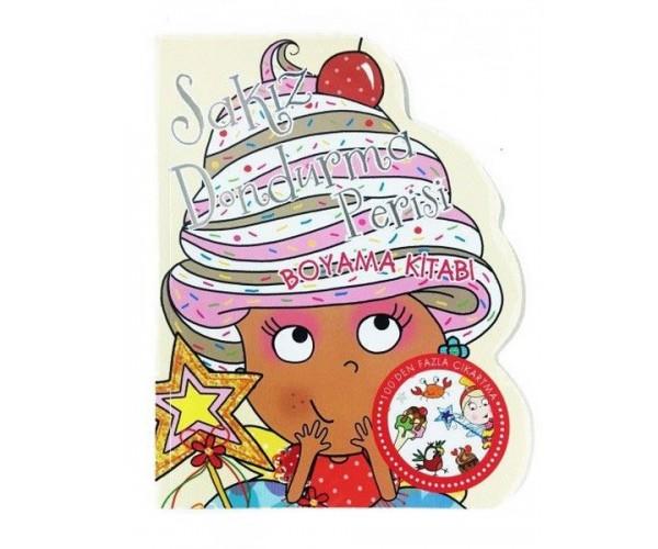 Sakiz Dondurma Perisi Boyama Kitabi 9786050940503 Dogan Egmont