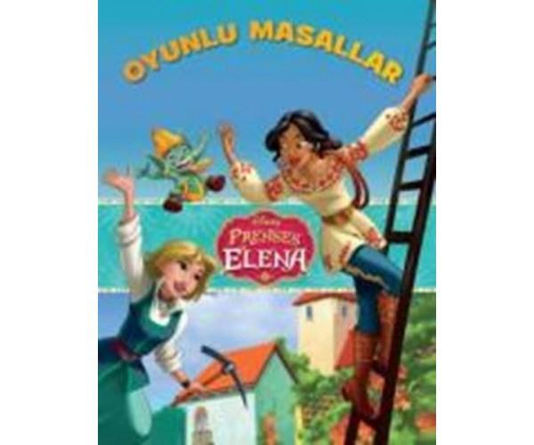 Disney Prenses Elena Oyunlu Masallar 9786050939422 Dogan