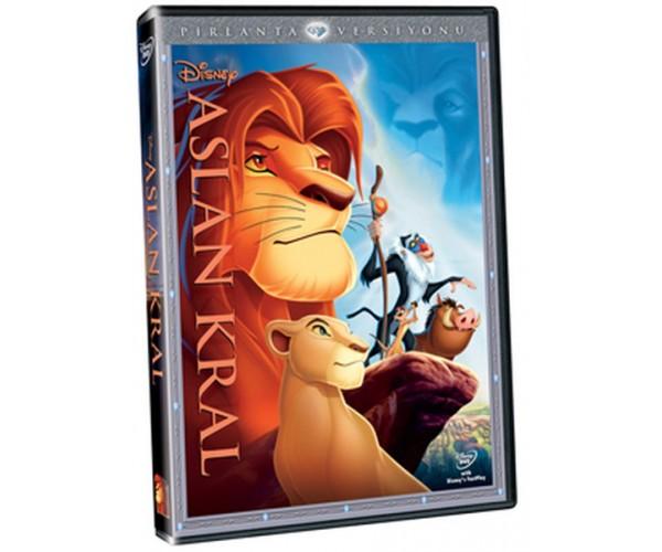 DVD ASLAN KRAL / LION KING (RE-PACKAGING)