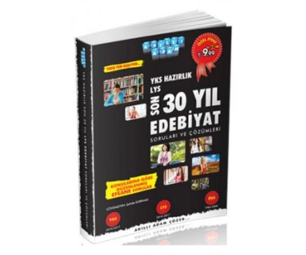 YKS Hazirlik Son 30 Yil Edebiyat Sorulari ve Çözüm
