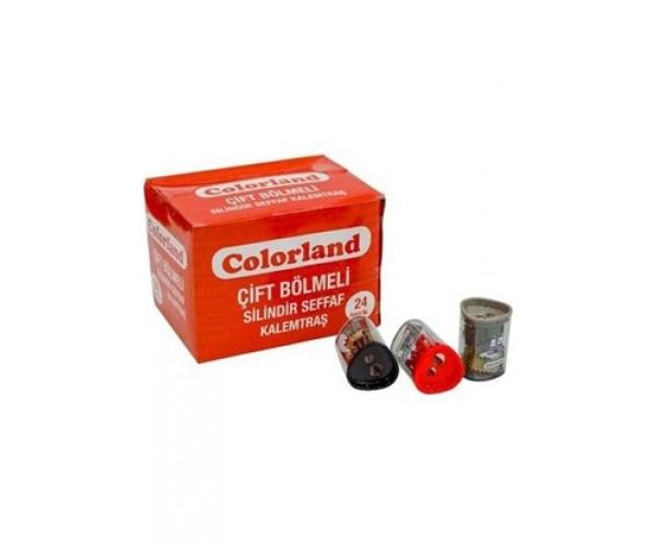 Colorland Kalemtraş Çiftli Silindir Klt23