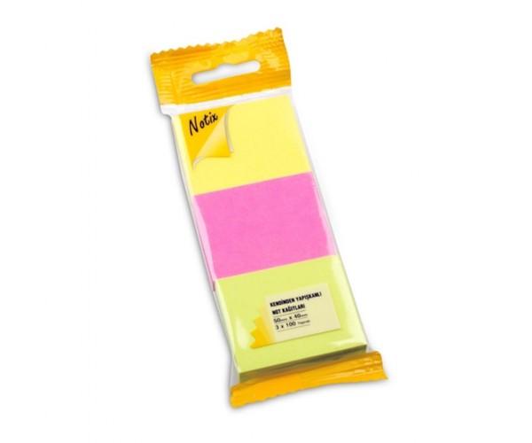 Notıx Neon 3Lü 100 Yp 50X40 Asmalı