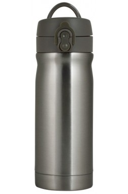 Trendix Çelik İçli Matara 350 Ml Metalik Gri
