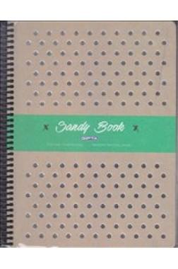 Sandy Book Sert Kapak 120 Yaprak Çizgili Defter