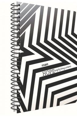 Hope Spiralli Kapak 100 Yaprak Çizgili Defter