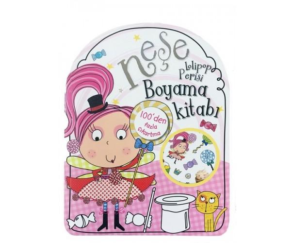 Nese Lolipop Perisi Boyama Kitabi 9786050940473 Dogan Egmont
