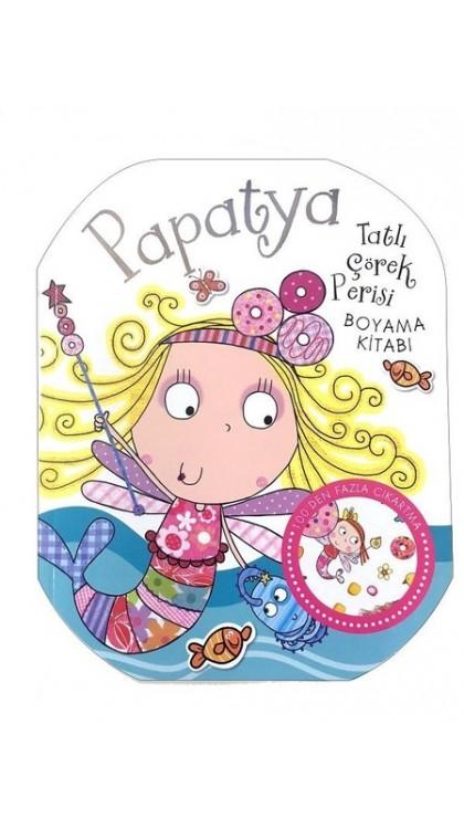 Papatya Tatli Corek Rerisi Boyama Kitabi 9786050940480 Dogan