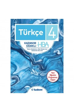 Türkçe 4 Kazanım Odaklı Hba