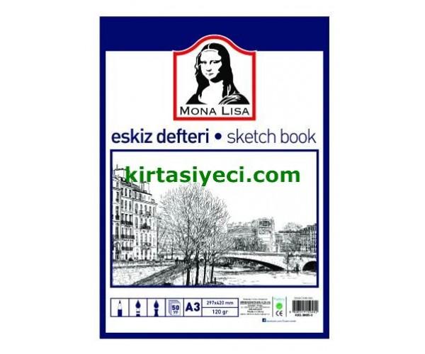 Südor  Eskiz Defteri A3 120Gr 50 Yp